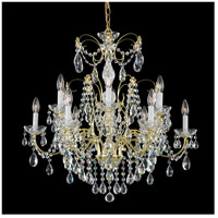 Madison 12 Light 30 inch Gold Chandelier Ceiling Light