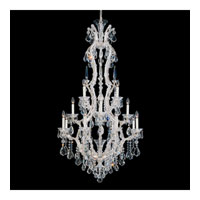 Schonbek Maria Theresa 17 Light Chandelier in Silver Leaf 5622-48