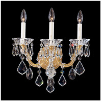 Schonbek 5602-26 Maria Theresa 3 Light 9 inch French Gold Wall Sconce Wall Light