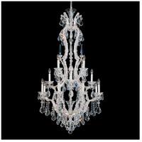 Schonbek 5622-48 Maria Theresa 17 Light 33 inch Silver Leaf Chandelier Ceiling Light in Antique Silver