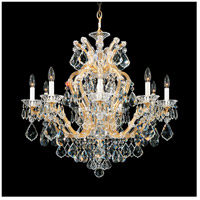 Schonbek 5626-26 Maria Theresa 10 Light 31 inch French Gold Chandelier Ceiling Light