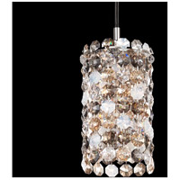 Matrix 1 Light 3 inch Stainless Steel Pendant Ceiling Light in Clear Spectra, Geometrix,Canopy Sold Separately