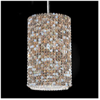 Matrix 4 Light 10 inch Stainless Steel Pendant Ceiling Light in Clear Spectra, Geometrix,Canopy Sold Separately
