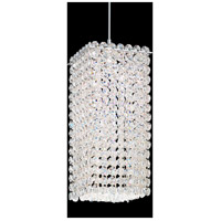 Matrix 1 Light 5 inch Stainless Steel Pendant Ceiling Light in Clear Spectra, Geometrix,Canopy Sold Separately