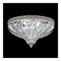 Schonbek Milano 2 Light Flush Mount in Roman Silver 5630-80