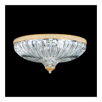 Schonbek Milano 4 Light Flush Mount in Parchment Gold 5632-27