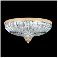 Schonbek 5632-27 Milano No Trim 4 Light 16 inch Parchment Gold Flush Mount Ceiling Light