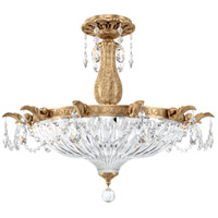 Schonbek French Gold Semi-Flush Mounts
