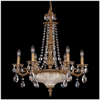 Milano 9 Light 23 inch Florentine Bronze Chandelier Ceiling Light in Clear Spectra