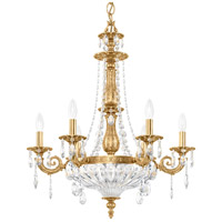 Schonbek 5691-83A Milano 9 Light 23 inch Florentine Bronze Chandelier Ceiling Light in Clear Spectra