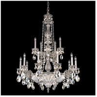 Milano 19 Light 31 inch Roman Silver Chandelier Ceiling Light in Silver Shade
