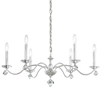 Schonbek MD1006N-40H Modique 6 Light 32 inch Polished Silver Chandelier Ceiling Light in Heritage