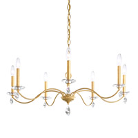 Schonbek MD1007N-22H Modique 7 Light 35 inch Heirloom Gold Chandelier Ceiling Light in Heritage