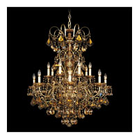Schonbek New Orleans 14 Light Pendant in Heirloom Silver and Strass Tk Crystal 3658-44TK