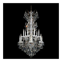 Schonbek New Orleans 14 Light Chandelier in Etruscan Gold and Clear Heritage Handcut Trim 3659-23H