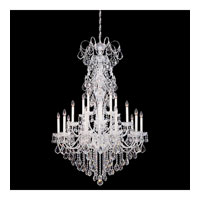 Schonbek New Orleans 20 Light Chandelier in Silver and Clear Heritage Handcut Trim 3661-40H