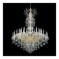 Schonbek New Orleans 24 Light Chandelier in Gold and Clear Heritage Handcut Trim 3662-20H alternative photo thumbnail
