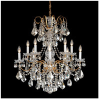 Schonbek 3657-211TK New Orleans 10 Light 28 inch Aurelia Chandelier Ceiling Light in Golden Teak