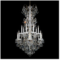 Schonbek 3659-22TK New Orleans 14 Light Heirloom Gold Chandelier Ceiling Light in Golden Teak
