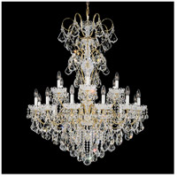 Schonbek 3660-211H New Orleans 18 Light 36 inch Aurelia Chandelier Ceiling Light in Clear Heritage