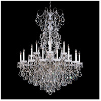 Schonbek 3662-49H New Orleans 24 Light 48 inch Black Pearl Chandelier Ceiling Light in Clear Heritage