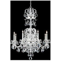 Novielle 8 Light 31 inch Silver Chandelier Ceiling Light in Clear Spectra