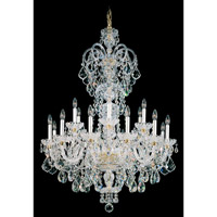 Schonbek 6815-40A Olde World 23 Light 36 inch Silver Chandelier Ceiling Light in Polished Silver, Olde World Spectra