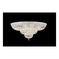 Petit Crystal Deluxe 27 Light 36 inch Gold Flush Mount Ceiling Light in Clear Swarovski Elements, Polished Gold