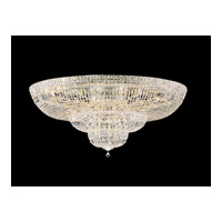 Petit Crystal Deluxe 36 Light 48 inch Gold Flush Mount Ceiling Light in Clear Swarovski Elements, Polished Gold
