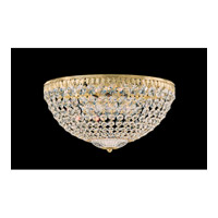 Schonbek Petit Crystal 5 Light Flush Mount in Silver and Clear Spectra Crystal Trim 1564-40A