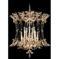 Schonbek Petite Laurelie 10 Light Chandelier in French Gold and Crystal Swarovski Elements Trim PL6552N-26S photo thumbnail