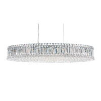Schonbek Plaza 16 Light Pendant in Stainless Steel and Clear Spectra Crystal Trim 6678A
