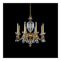 Schonbek Poeta 8 Light Chandelier in Florentine Bronze and Crystal Swarovski Elements Trim PO6618N-83S