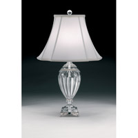 Schonbek Princessa 1 Light Table Lamp in Antique Silver 20080N-48