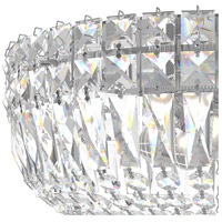 Schonbek 5892-40M Petit Crystal Deluxe 5 Light 12 inch Silver Flush Mount Ceiling Light in Polished Silver, Clear Gemcut alternative photo thumbnail