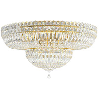 Schonbek 5895-211M Petit Crystal Deluxe 13 Light 24 inch Aurelia Flush Mount Ceiling Light in Clear Gemcut