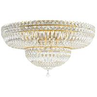 Schonbek 5895-211A Petit Crystal Deluxe 13 Light 24 inch Aurelia Flush Mount Ceiling Light in Petite Deluxe Spectra