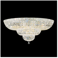 Petit Crystal Deluxe 27 Light 36 inch Aurelia Flush Mount Ceiling Light in Clear Swarovski
