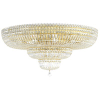 Schonbek 5896-211M Petit Crystal Deluxe 27 Light 36 inch Aurelia Flush Mount Ceiling Light in Clear Gemcut