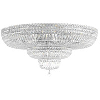 Schonbek 5896-40A Petit Crystal Deluxe 27 Light 36 inch Silver Flush Mount Ceiling Light in Polished Silver, Petite Deluxe Spectra