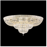Petit Crystal Deluxe 36 Light 48 inch Aurelia Flush Mount Ceiling Light in Clear Swarovski