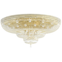 Schonbek 5897-211M Petit Crystal Deluxe 36 Light 48 inch Aurelia Flush Mount Ceiling Light in Clear Gemcut