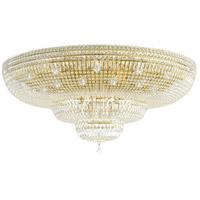 Schonbek 5897-211A Petit Crystal Deluxe 36 Light 48 inch Aurelia Flush Mount Ceiling Light in Petite Deluxe Spectra