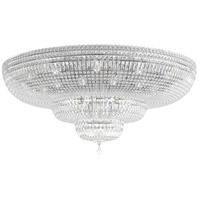 Schonbek 5897-40A Petit Crystal Deluxe 36 Light 48 inch Silver Flush Mount Ceiling Light in Polished Silver, Clear Spectra