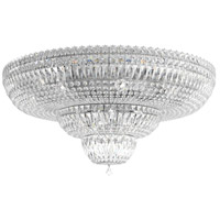 Schonbek 5898-40S Petit Crystal Deluxe 21 Light 31 inch Silver Flush Mount Ceiling Light in Polished Silver, Clear Swarovski