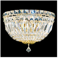 Schonbek 6600-211A Petit Crystal Deluxe 3 Light 5 inch Aurelia Wall Sconce Wall Light in Petite Deluxe Spectra