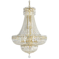 Petit Crystal Deluxe 20 Light 21 inch Aurelia Chandelier Ceiling Light in Clear Spectra