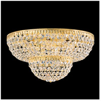 Schonbek 1568-211A Petit Crystal 9 Light 18 inch Aurelia Flush Mount Ceiling Light in Clear Spectra
