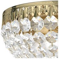 Schonbek 1560-40A Petit Crystal 4 Light 10 inch Silver Flush Mount Ceiling Light in Polished Silver, Clear Spectra alternative photo thumbnail