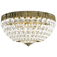 Schonbek 1562-211A Petit Crystal 5 Light 12 inch Aurelia Flush Mount Ceiling Light in Spectra